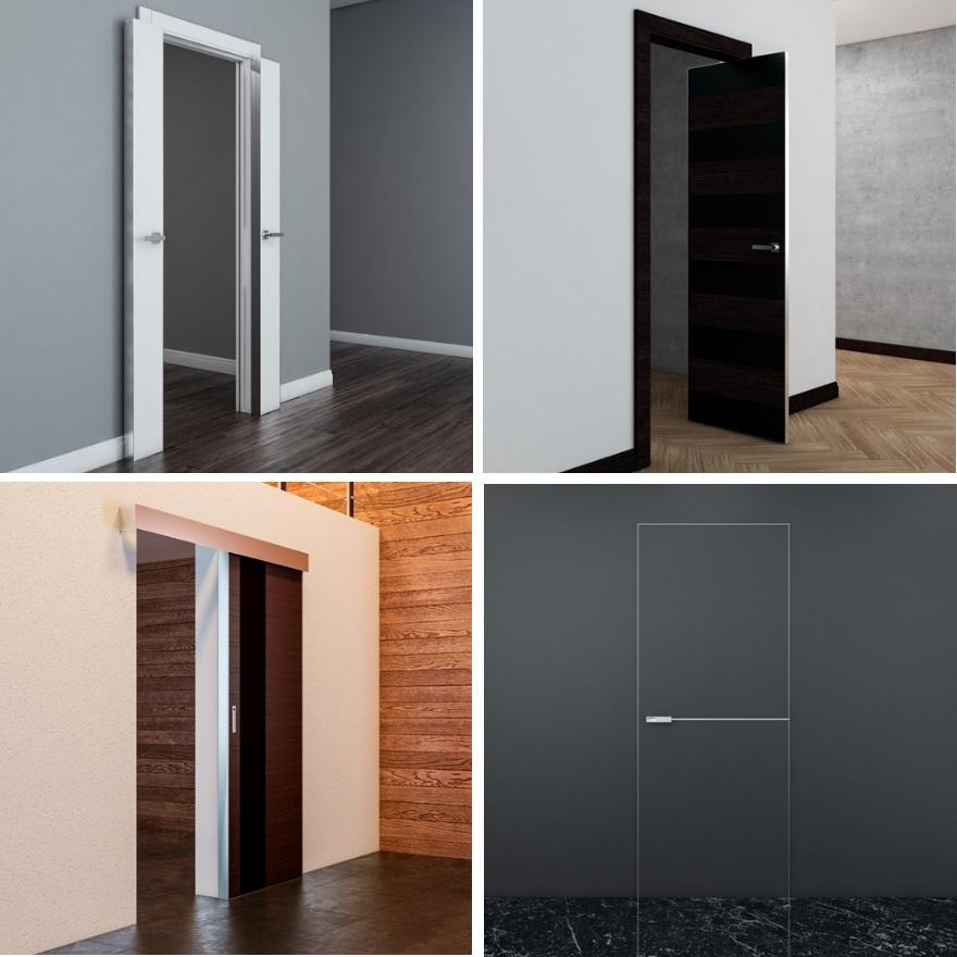 Системы открывания дверей Профиль Дорс